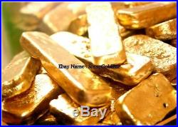 1000 grams Scrap lot gold bar for Gold Recovery For jewelry or Coins For Gift