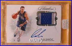 2018-19 Panini LUKA DONCIC RC Rookie RPA Game-Used Patch Auto Gold Bar Lot