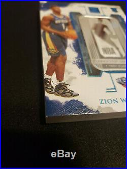 2019-20 Impeccable Zion Gold bar 7/8 AND FOTL silver bar 6/15 card LOT
