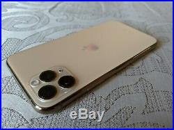 Apple iPhone 11 Pro 256GB GOLD Unlocked 100%Battery Health Mint condition