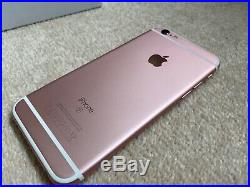 Apple iPhone 6s 32GB Rose Gold (Unlocked) A1688 (CDMA GSM) used but mint