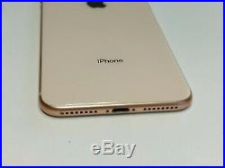 Apple iPhone 8 Plus 256GB Gold (Unlocked) A1897 (GSM) Mint Condition