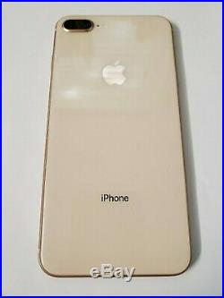 Apple iPhone 8 Plus 64GB Gold (Unlocked) A1897 (GSM) MINT CONDITION! With Bundle