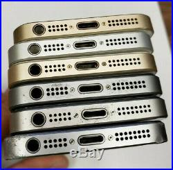 Apple iPhone SE -MIX GB (Unlocked) A1662 FAIR CONDITION! LOT OF 6