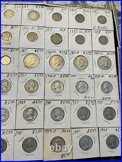 Estate Lot Old Us Coins Gold. 999 Silver Bars Bullion Money Hoard Pcgs Old
