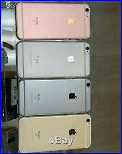LOT OF 5 Apple iPhones 6s 32 GB Unlocked OEM Used Great Condition