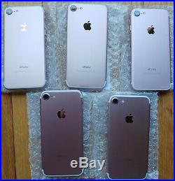 LOT of used 20 units of iPhone 7 32 GB (Unlocked) Grade A Rose Gold
