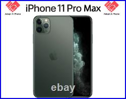 NEW Apple iPhone 11 Pro Max 64GB T-Mobile + Metro + Mint Mobile A2161