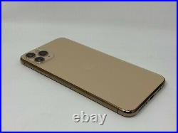 NICE Apple iPhone 11 Pro Max GOLD 256GB Unlocked MINT A2161 with Original Acc