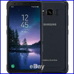 OB Samsung galaxy S8 Active G892A GSM Unlocked Meteor Gray Gold 4G-LTE at&t MINT
