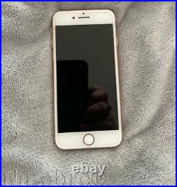 Unlocked Apple iPhone 8 256GB MQ7T2LL/A Gold with Lot of Accessories EUC